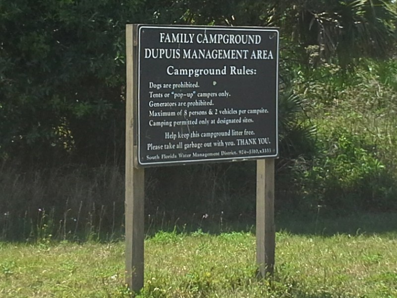 DuPuis WMA - Indiantown, Florida | Free Campsites Near You