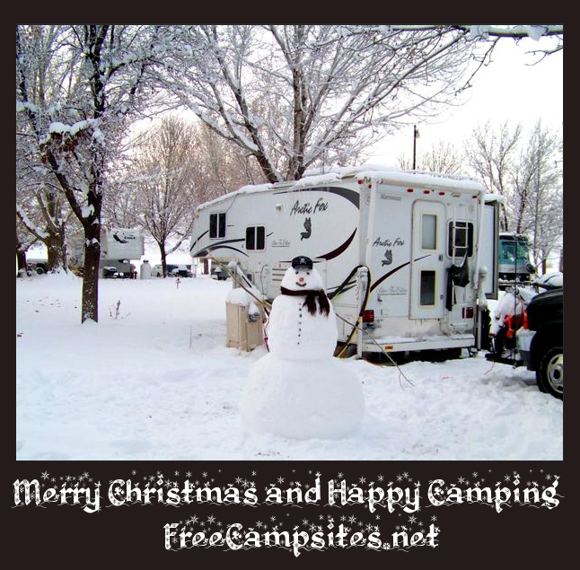 Merry Christmas and Happy Camping