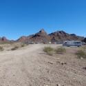 Camping at Lone Tree, Lake Havasu City, Arizona