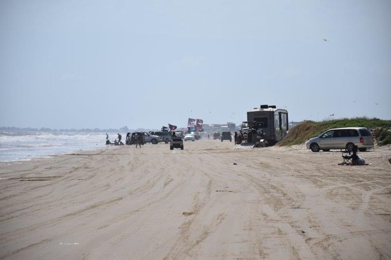Crystal Beach Bolivar Peninsula Texas Free Camping
