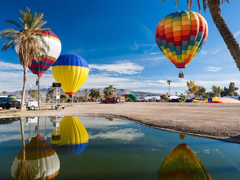 Lake Havasu Balloon Festival - Credit:David Mello