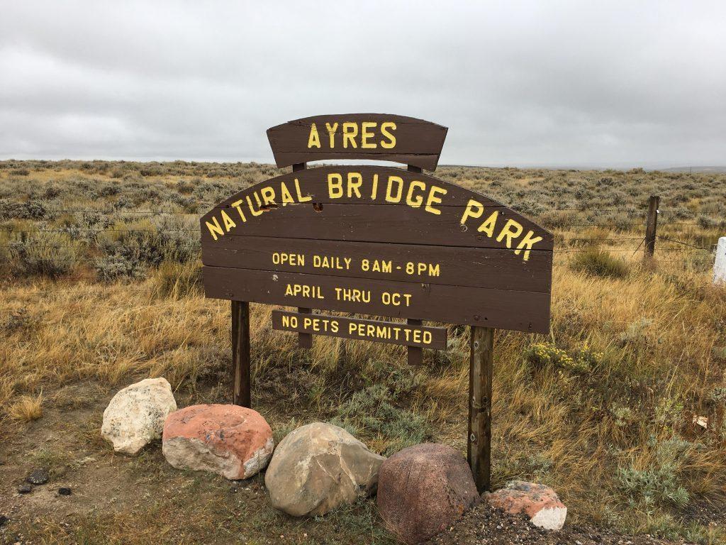 Ayres Natural Bridge State Park Camping