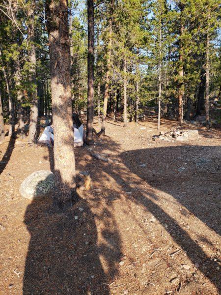 Dispersed Camping Near St Mary S Glacier Idaho Springs