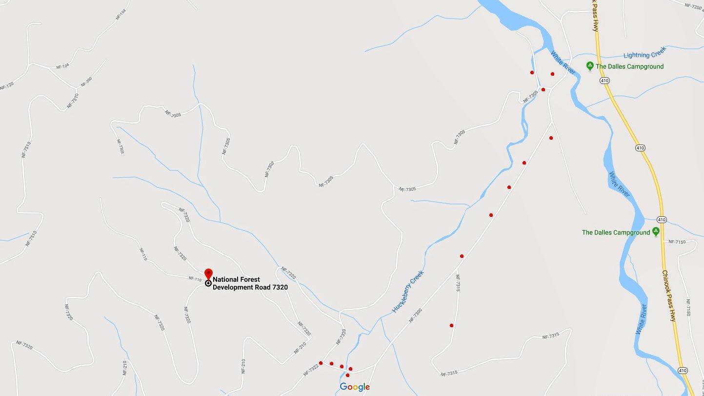 Fire Service Roads Outside Greenwater Enumclaw