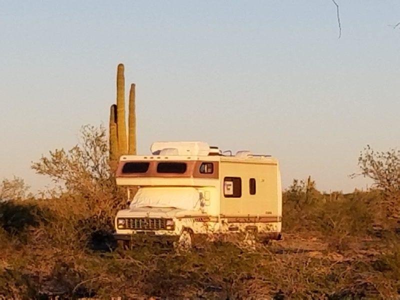 Saddle Mountain Blm Tonopah Arizona Free Camping Near You